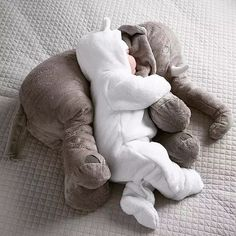 You and your little one will absolutely love this amazing Baby Elephant Pillow. It also makes the perfect baby shower gift! Features: High quality and unique de