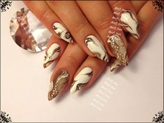 Im back! by annelipruss - Nail Art Gallery nailartgallery.nailsmag.com by Nails Magazine www.nailsmag.com #nailart