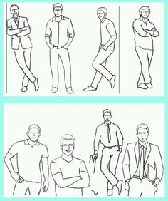 Photo poses for men
