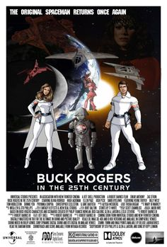 Fan made reboot poster for Buck Rogers in the 25th Century