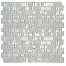 Bella Collection Found it at Wayfair - Mini Mix Shiny and Satin Mosaic Tile in Mist Stick On Wall Tiles, Contemporary Tile, Smart Tiles, Glass Installation, Adhesive Tiles, Mosaic Tiles, Backsplash Tile, Tiling, Tile Design