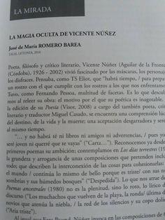 #VicenteNuñez #RomeroBarea para @LaManPoe @VisorLibros @masleer @libreriaprimera @aguilarfrontera @gemis46 @masleer
