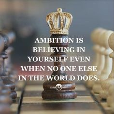 Ambition is believing in yourself even when no one else in the world does Edgy Quotes, Done Quotes, Believe In Yourself Quotes, Life Quotes To Live By, Positive Quotes, Motivational Quotes, Inspirational Quotes, Ambition Quotes, Boss Babe Quotes