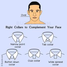 Types of Collars For Oval Faced People