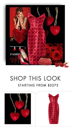 """""""February"""" by sherry7411 ❤ liked on Polyvore featuring Victoria's Secret, Valentino, Vivienne Westwood Gold Label, Jimmy Choo, Judith Leiber, women's clothing, women, female, woman and misses"""