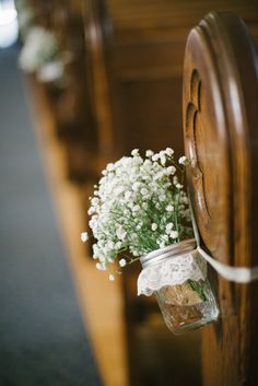 <3 Baby´s Breath - DIY Greenwood Hills Country Club Wedding by The McCartneys Photography
