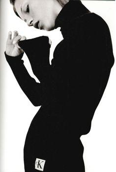 Kate for Calvin Klein.