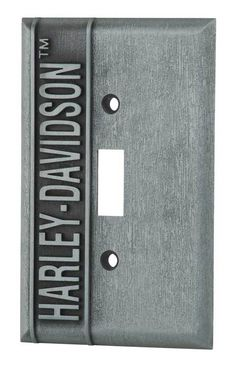 2cc092cc2be Free shipping over  99 - Harley-Davidson Heavy-Duty H-D Single Switch Plate
