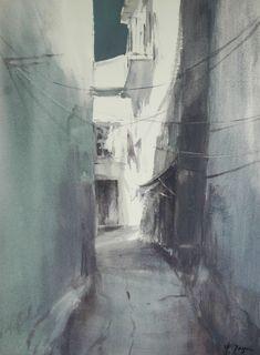 Francisco Castro: Calle en Viana do Castelo, serie - urbano