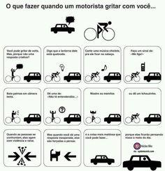 O que fazer quando um motorista gritar com você http://www.nucleobike.com.br/humor/o-que-fazer-quando-um-motorista-gritar-com-voce/ #borapedalar #nucleobike #bicicleta #bike #mtb