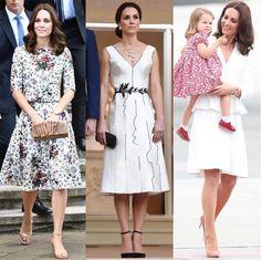 O closet ambulante de Kate Middleton em tour real: 5 dias e 9 looks diferentes! | Moda | Glamurama