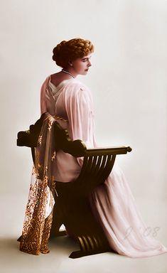 "thefirstwaltz: "" ""Marie, Crown Princess of Romania."