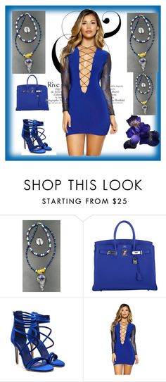 """Beccas Beads/Rebecce Freemans"" by alma-ja ❤ liked on Polyvore featuring Hermès"