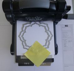 How to keep Stampin' Up! Framelits in place when cutting more than one at a time.
