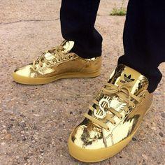 Les 8 meilleures images de Gold Sneakers   Chaussure