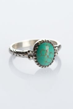 The Lone Wolf Petit Turquoise Ring | Spell & the Gypsy Collective