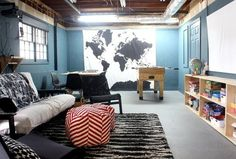 """The """"Basement Boxes to Movie Hangout"""" Makeover — Makeover   Apartment Therapy"""