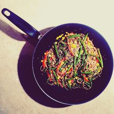Sezonowy stir-fry z fasolką i kukurydzą - Healthy tastes good by Lila