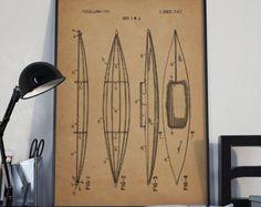 Kayak Patent,Kayak Print, Kayak Poster, Kayak Prints, Kayak Blueprint, Kayak Print, Kayak Art, Kayak Decor,patentprints #P90 Wall Art Decor, Kayaking, Gallery Wall, Wall Ideas, Handmade, Design Ideas, Bathroom, Poster, Washroom
