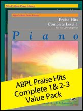 Alfred Music | Alfred's Basic Piano Library Praise Hits Complete 1 & 2-3 Value Pack | Other Format