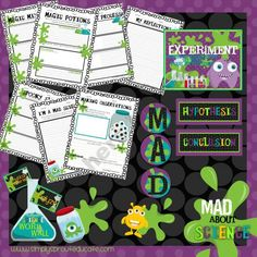 MAD About Science Resource kit and classroom activities product from Simply-Sprout on TeachersNotebook.com