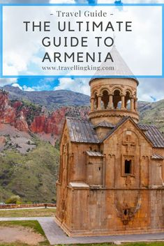 This ultimate travel guide to Armenia will show you all the most beautiful places in Armenia and what to expect when visiting, which will help you in planning a trip to Armenia. Best Places To Travel, Cool Places To Visit, Travel Guides, Travel Tips, Travel Packing, Attraction World, Armenia Travel, Ultimate Travel, Countries Of The World