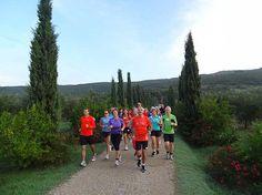 Running session