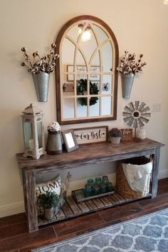 If you are looking for Rustic Farmhouse Living Room Decor Ideas, You come to the right place. Here are the Rustic Farmhouse Living Room Decor Idea. Rustic Farmhouse Decor, Farmhouse Style Decorating, Modern Farmhouse, Farmhouse Design, Country Decor, Farmhouse Ideas, Farmhouse Budget, Rustic Modern, Rustic Design