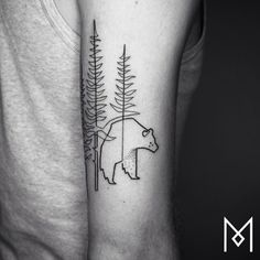24 Minimal Tattoos That Are Made From Just A Single Line | UltraLinx