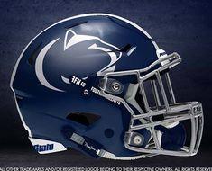 The Best College Football Alternate Helmet Concepts - Pamukkus Football Helmet Design, College Football Helmets, Football Uniforms, Football Jerseys, Football Cheerleading, Sports Helmet, Cheerleading Gifts, Football Season, Indiana Football