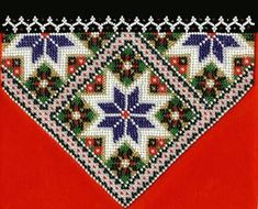 Bilderesultat for bringeduker til bunad Hardanger Embroidery, Beaded Embroidery, Bead Crafts, Diy And Crafts, Spinning Circle, Crochet Bedspread, Gold Work, Peyote Stitch, Cross Stitching