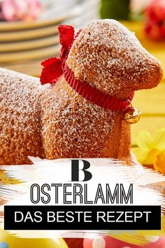 Osterlamm backen: Das beste Rezept Bake Easter lamb: The best recipe. We'll show you step by step how to bake an Easter lamb. For the recipe you have to make a batter and you need an Easter lamb cake tin. Healthy Dessert Recipes, Appetizer Recipes, Baking Recipes, Holiday Desserts, Holiday Recipes, Lamb Cake, Desserts Ostern, Easter Lamb, Easter Cupcakes