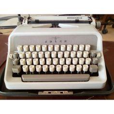 Vintage Adler model Junior 20 typewriter Typewriter, Model, Vintage, Scale Model, Vintage Comics, Pattern, Models, Modeling