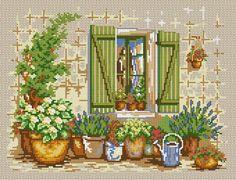 Flowers Under Window !!!@@@@¡¡¡¡....http://www.pinterest.com/elianecarneiro/paisagens-3/