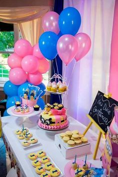 Mesa dulce para nenas