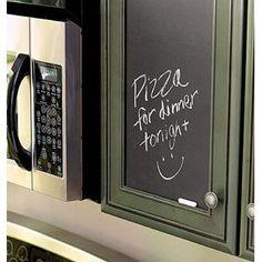 Kitchen cabinet makeover idea!