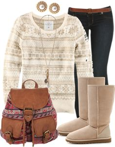 Winter comfy outfit <3
