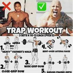 Trap Workout From The Rock