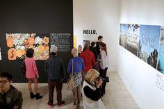 The Happy Show at MOCA — Minimally Minimal Moca Museum, Happy Show, Stefan Sagmeister, Emo, Museum Of Contemporary Art, Minimalism, Prison, Design, Heart