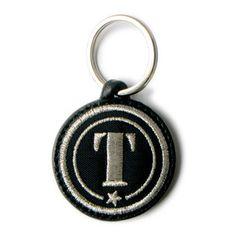 Alphabet Key Ring Silver T, 18€, by c'est à vous !!