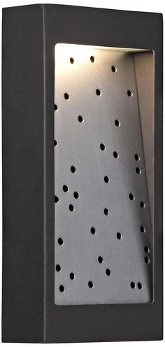 "Bronze 10"" High Dusk to Dawn LED Outdoor Floodlight - #2M943 | www.lampsplus.com"