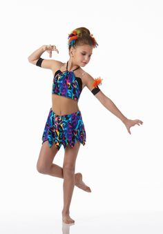 Teachers Witch Doctor Biketard Acro Ice Skating Baton Dance Costume Size Choice | eBay