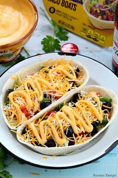 Beef taco boats with beer cheese sauce recipe
