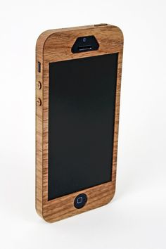 Wooden iPhone 5 Case. $29.95, via Etsy.