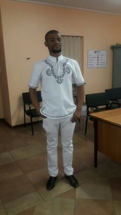 White and black strips Xhosa attire Xhosa Attire, African Culture, People, Mens Tops, T Shirt, Clothes, Black, Fashion, Supreme T Shirt