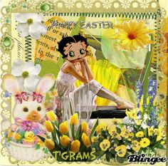 Happy Easter -betty boop
