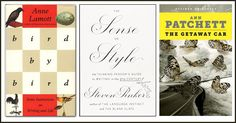 The following three books offer some of the best advice to improve your writing, from authors who have proven themselves time and again in print.