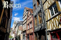 Rue Damiette, one of the cutest street in old Rouen. Photo taken today! http://www.frenchmoments.eu/rouen/ #Rouen #Normandy #Normandie