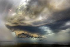 Electrical storm in Baltiysk, Russia