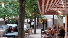 Ibérica La Terraza Opens It's Gates To London Gates, Park Restaurant, Al Fresco Dining, Public Spaces, Pavilion, Rum, Caribbean, Pergola, Spain
